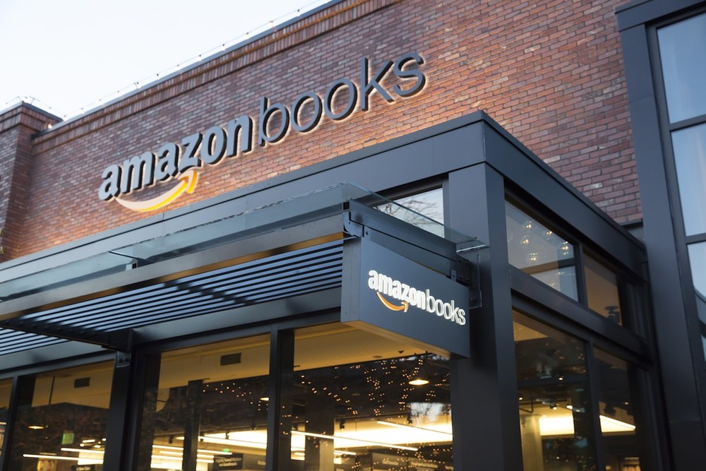 Amazon Books store in Seattle